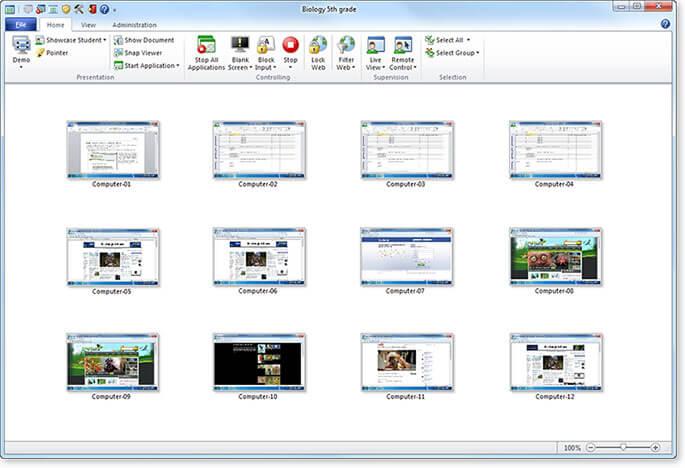 Vision classroom screensshot Codework