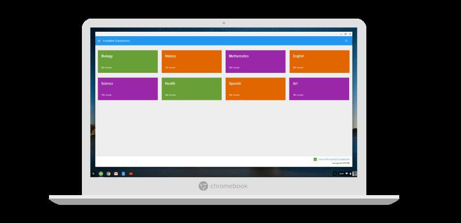 chrome classroom management integrations
