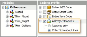AQTime - Selective Code Profiling - C/C++, Delphi, .Net, and Java Profiler