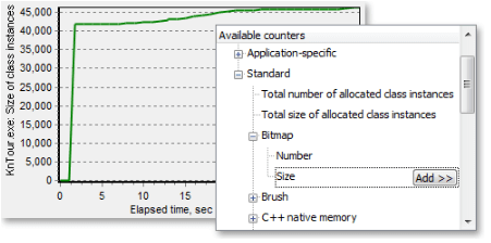 AQTime - Monitor Memory Allocation - C/C++, Delphi, .Net, and Java Profiling