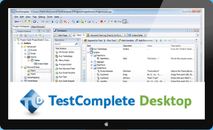TestComplete Desktop Automated Testing Tools