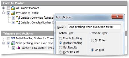 AQTime Selective Profiling - C/C++, Delphi, .Net, and Java Profiling